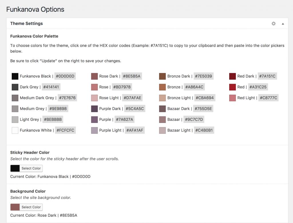 ACF Custom Options Page
