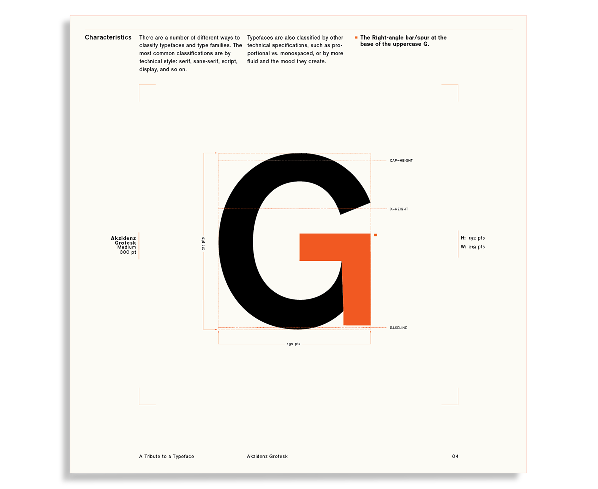 Daniel Lindqvist's Akzidenz Type Specimen card set on Behance